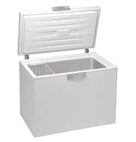Congelateur Coffre Classe A+ - Beko HS221520 Coffre Autonome Blanc A+ 205L