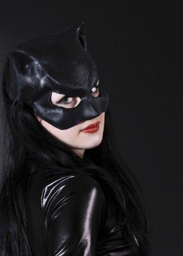Katzenmaske Catwoman aus Latex -