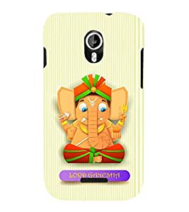 Fiobs Designer Phone Back Case Cover Micromax Canvas Magnus A117 :: Micromax A117 Canvas Magnus ( Ganesh Logo Lord Ganesh God )