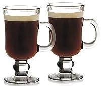 Maxwell Williams 250 ml Glass BAR Irish Coffee Glass in Gift Box, Set of 2, Transparent