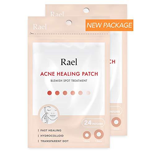 Rael acné hidrocoloideo parche curación 2 paquete