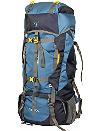 TRAWOC 60L Travel Backpack for Outdoor Sport Camp Hiking Trekking Bag Camping Rucksack HK006 1 Year Warranty