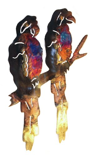 two-parrots-multi-coloured-recycled-metal-wall-hanging-18cm-high-and-12cm-long-fair-trade-and-hand-m