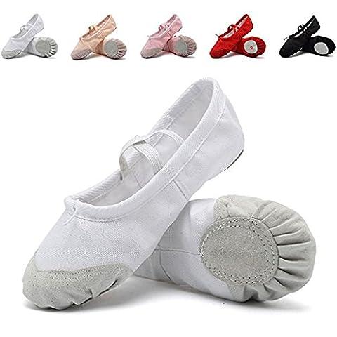 Salsa Tenues - DoGeek Chaussure de Ballet Ballerine Fille Chaussure