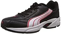 Puma Mens Black and White Synthetic Running Shoes (18793001) - 8UK/India (42EU)