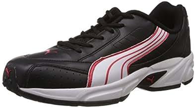 Puma Men's Krypton DP Black and White Running Shoes - 6 UK/India (39 EU)