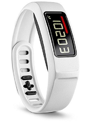 Garmin vivofit 2Kabelloser Fitnesstracker fürs Handgelenk, Band mit Aktivitätstracker mit Herzfrequenzmesser–Schwarz (Microsoft Health Band)