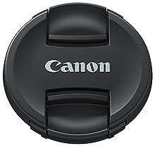 Canon E-72II Tappo per Lenti EF, 72 mm di Diametro, Nero