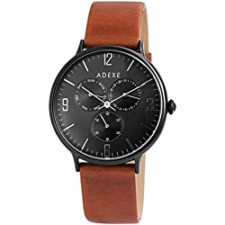 Adexe Men's Watch They Multifunction Leather 1888 °C 02