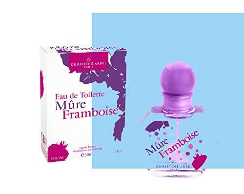 Parfum fille Lot de 5 eaux de toilette gourmandes - Christine Arbel MADE IN FRANCE + 1 miroir de poche offert !