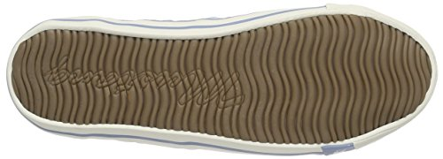 Mustang 1099-302-9 Damen Sneakers Blau (832 pastellblau)