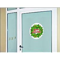 N1104 Etiqueta Corona de Navidad ø 400 mm. Decoración navideña, en la pared o