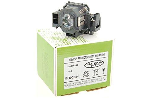 :Lámpara de proyector Alda PQ para EPSON CINEMA 700, EB S6, EB S62, EB S6LU, EB W6, EB X6, EB X62, EB X6LU, EH TW420, EMP S5, EMP X5, EMP X52, EMP X5E, EMP 260, EMP77C, EMP S6, EMP X6, EX21, EX30, EX50, EX70, PowerLite: 77c, 78, S5, S6, W6, HC 700, H283A, H283B, H284A Proyectores, módulo de la lámpara con la caja
