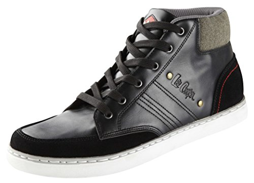 Lee Cooper Arbeitsschuh LCSHOE079 S1P/SRA BOOT Freitzeitschuh Boot Sneaker mit Stahlkappe Schwarz
