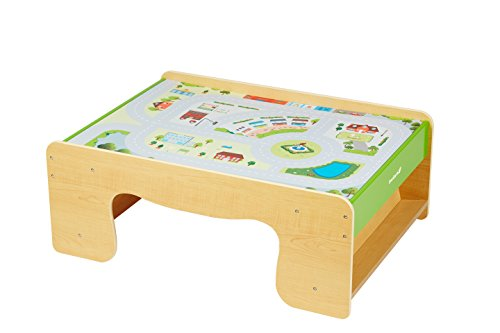 everearth-ee33665-table-de-train-plateau-reversible-ville-et-campagne-multicolore