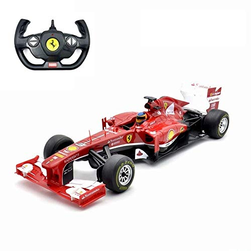 Wesxm Elektrische Fernbedienung Formula Racing 2,4G Drift-Fernbedienung Auto-Modell Toy Power von AA-Batterie Hochgeschwindigkeits-F1-Rennwagen-Modell 1:12 Wireless RC-Fahrzeug