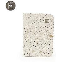 Walking Mum 35854 - Libro nacimiento estrellas, color beige positive