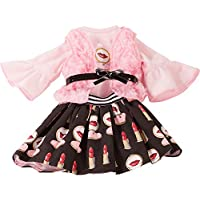 Gotz 3402927 Standing Doll Combo Pretty - Size XL - Dolls Clothing / Accessory Set - Suitable For Standing Dolls Size XL (45 - 50 cm)