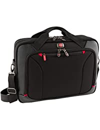 "Wenger 28373001 Highwire 17"" Deluxe Laptop Briefcase - Notebook Carrying Case, Black"