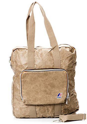 K-way Shopper Borsa Donna Shopping Bag Men Women K1501-Beige