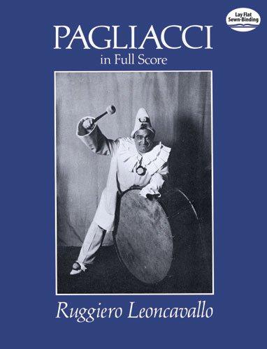 Pagliacci (Full Score): Partitur, Dirigierpartitur (Dover Vocal Scores)