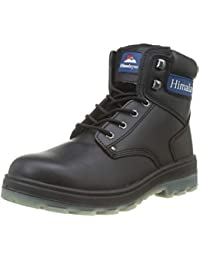 Himalayan Black Leather Safety Boot - S3