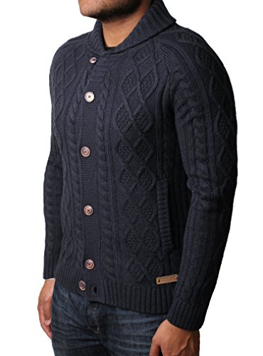 Threadbare Herren Pullover Navy