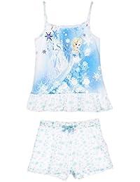 Pijama Frozen tirantes. Color azul. Talla 5A.