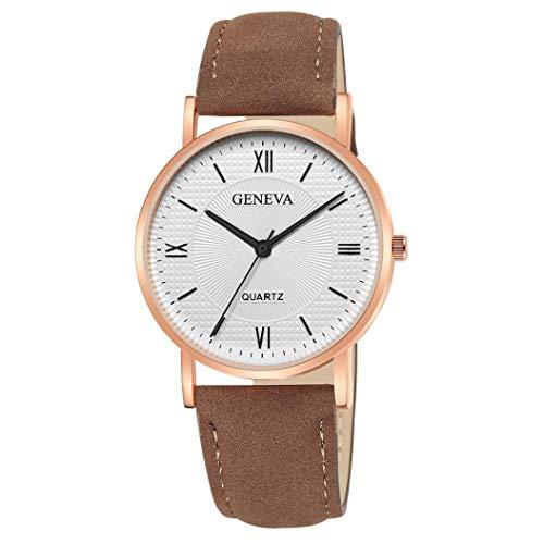 Kinlene Damen Urhen Neue Mode Frauen Lederband Analog Quarz Diamant Armbanduhr Uhren Urhen