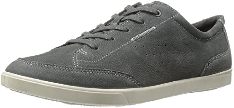 Ecco Men's Collin Classic Tie Synthetic Fashion Sneaker  Dark Shadow  46 EU/12 12.5 M US