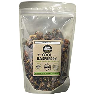 Rollagranola Cool Raspberry Granola (300g) | 100% Natural Ingredients and All The Health Benefits Associated