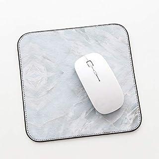 Kreative marmorierte Maus Computer Lock Seite Anti-Rutsch-Mauspad Cyan