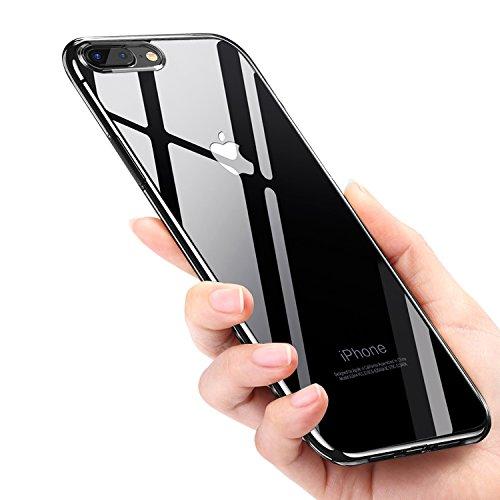 Funda iPhone 8, Mture iPhone 8 Carcasa Cover Silicona TPU Protectora Ultra Fina Caso Anti-Rasguño Funda Case Para Apple iPhone 8 / iPhone 7 (Transparente)