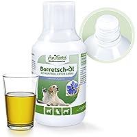 AniForte borretsch de Aceite 250ML–Producto Natural para Perros, Gatos y Caballos ID: 508C 03