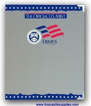The Official U.S. Mint Dimes Coin Album -
