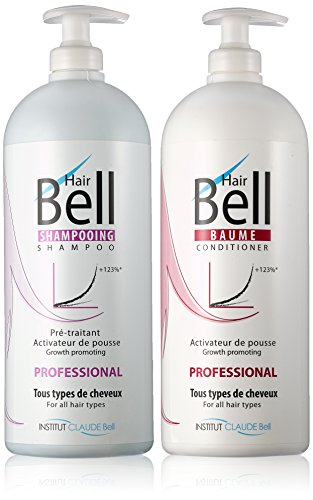 Veana Claude Bell HairBell Shampoo + Conditioner Pro, 2er Pack (2 x 1 l)