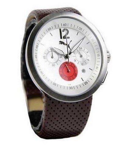 Puma - PU112P2B0028016 - Montre Mixte - Quartz Analogique - Cadran Argent - Bracelet Autre Multicolore