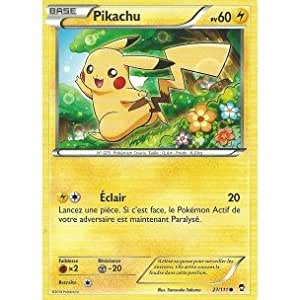 Carte Pokémon 27/111 PIKACHU - Série XY Poings Furieux NEUVE FR - Carte-Mania votre spécialiste.