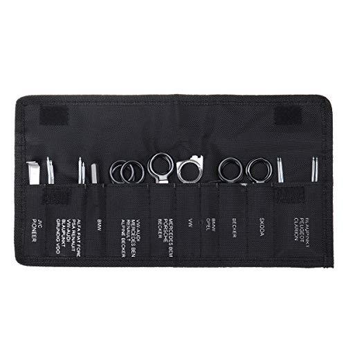 Forspero 20pcs Professional Car Radio Removal Key Tools Kit