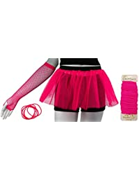 The Rock Collection TuTu Set (9 Colours) With R/C Pen (Pink)
