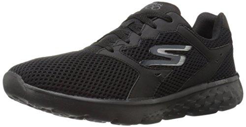 Skechers Performance Go Run 400, Zapatillas de Deporte Exterior para Hombre, Negro (Black) 44 EU