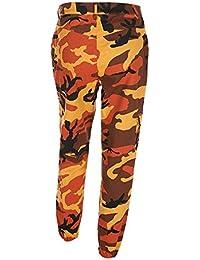 be7f05f29c Zarup♥♥♥Pantalones de Mujer Camo Cargo Pantalones de Camuflaje Casual al  Aire Libre