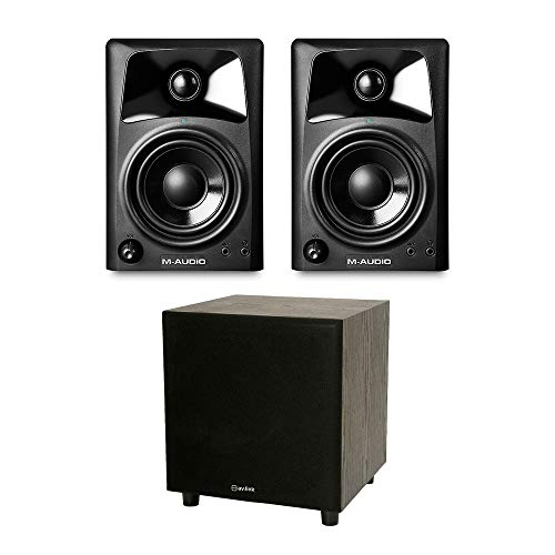 M Audio 2.1 Studio Sound System DJ Monitor HiFi Speaker for sale  Delivered anywhere in Ireland