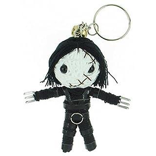 Edward mit den Scherenhänden Voodoo String Schlüsselanhänger mit Puppe
