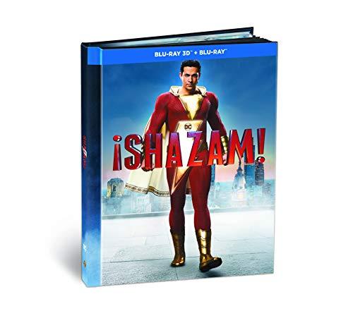 ¡Shazam! Blu-Ray 3d + 2d Digibook [Blu-ray]