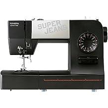 Toyota SUPERJ15 - Máquina de coser, 65 W, 15 programas, especial tejanos,