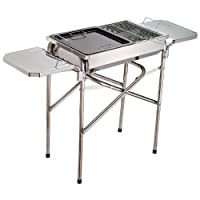 Outsunny BBQ Pedestal Charcoal Garden Cooking Grill