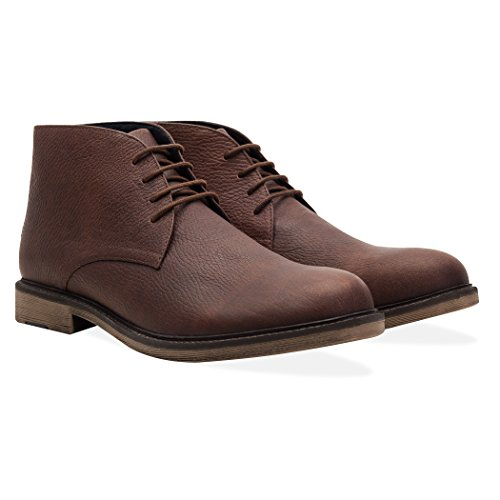 Redfoot Shoes Pembridge Leather brown boots, high quality rubber soles (UK 9...