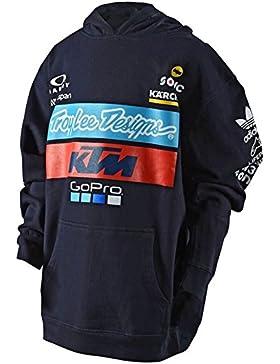 Troy Lee Designs Sudadera con Capucha niño KTM Team Azuloscuro