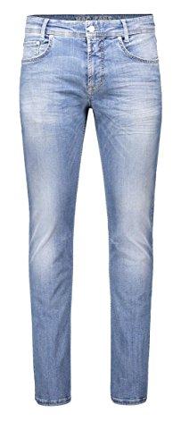 MAC Herren Straight Jeans Macflexx history summer blue